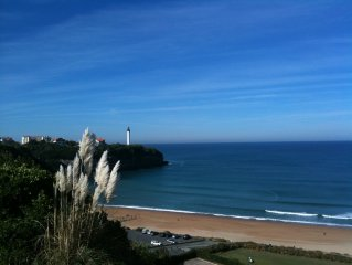 Apt T2 pool, Anglet / Biarritz, with 400m of the beach