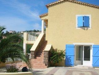 Appartement au rdc dans villa LES ISSAMBRES,6 personnes