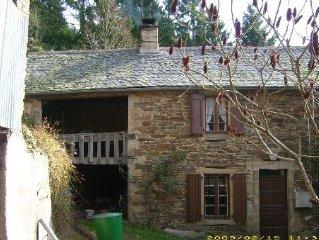 Gite 4 à 5 pers-Balaguier/Rance, Région St Sernin / Rance, Aveyron