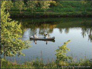 Grande propriete au calme avec etangs poissonneux, proche du Puy du Fou.