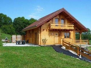 Chalet dans parc national du Haut-Jura, 5 chambres, 10 couchages, tout équipé