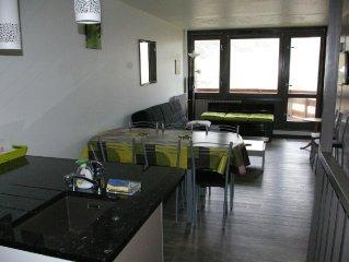 Loue appartement pour 8 pers entierement renove avec balcon Sud