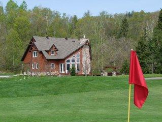 Large Tremblant Ski and Golf Chalet