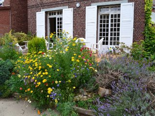 Maison De Charme à Dieppe de 130 m2 avec jardin