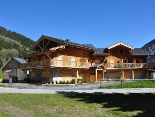 in the heart of the Vanoise National Park T3 new duplex 4 people