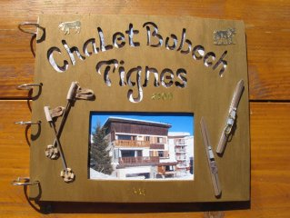 Appartement dans chalet famillial.4 pieces pour 7/8 pers Quartier Des Alme