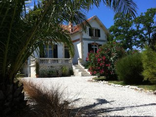 4 star villa with sea view, islands, natural area