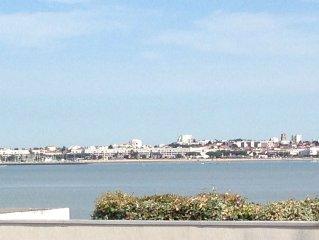 La baie de Royan dans votre salon !!! La brise marine dans le jardin.