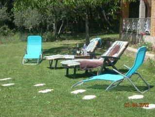 villa 6 persINDIVIDUELLE PLAN PIED -campagne var-proche moustier-verdon-aix