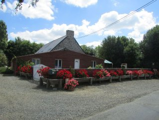 Cottage with SPA Jaccuzzi between SAINT-MALO AND MONT-ST-MICHEL