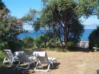 Maison indépendante - Pieds dans l'eau au sud du golfe d'Ajaccio.