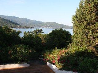 Pietrosella Plage villa 10/12 personnes 150 m plage vue exceptionnelle au calme