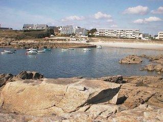 Face à la mer   appartement 60 m2 - la plage au pied de la résidence