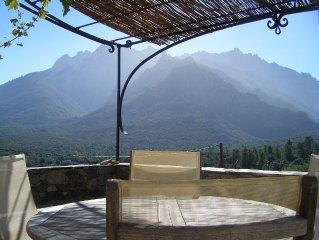 L'ALBARELLA CENTRE CORSE PROCHE DES GORGES DE L'ASCO
