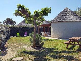 Maison de pecheur clim wifi grand jardin et pergola piscine jacuzzi sauna hammam