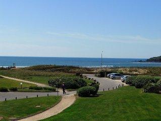 Duplex vue mer Guidel Plages, residence calme, pres restaurant, SPA, piscine