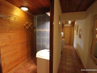 Appartement 3*  115 m2, 8 a 14 pers au coeur du village de La Giettaz