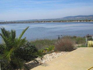 belle villa contemporaine vue magique à frontignan plage