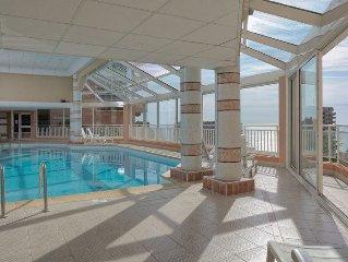 Splendide appartement avec vue mer et Monaco - Sauna et Hamam + piscine chauffee