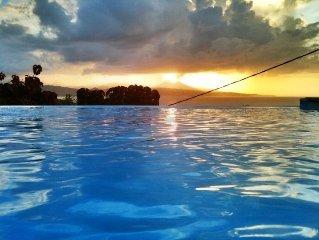 Villa spacieuse avec piscine et exceptionelle vue mer proche Reserve naturelle