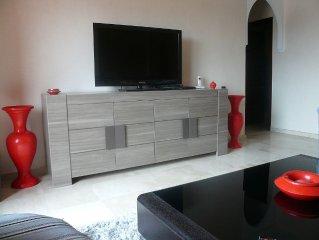a marrakech loue appartement meuble tout confort proche du centre ville