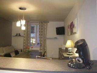 Appartement au centre-ville de Gerardmer, 4 personnes, 1 chambre independante