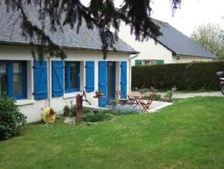 Maison  a louer sur les bords de Rance, proche Saint-Malo et Dinard