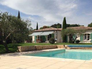 Très jolie maison climatisée- piscine privée- voisinage très silencieux.