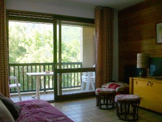 Apartment 4/6 persons facing south in Serre-Chevalier 1500