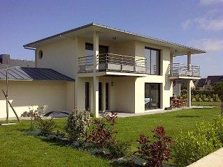 Ker Dune: Maison neuve à Frehel (22) à 800m de la plage avec tout le confort.