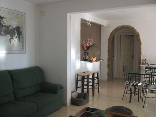 A PENISCOLA villa for 11 people - 500m from the b