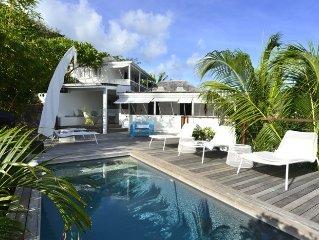 Villa Pamela Popo, design bohème chic
