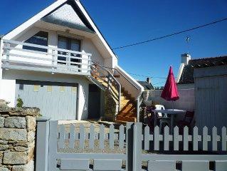 Petite maison idéalement  située, très propre et fonctionnelle