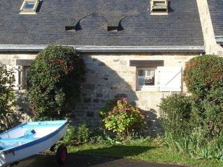 A louer au bord de l'eau, Golfe du Morbihan, Larmor Baden