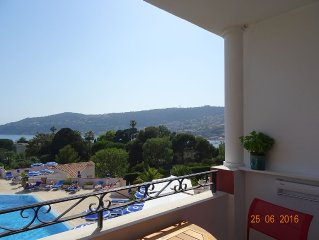 Superb sea view - Bay of Villefranche - pool - 10