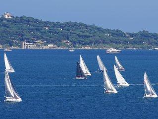 Luxurious villa at the gulf of Saint-Tropez
