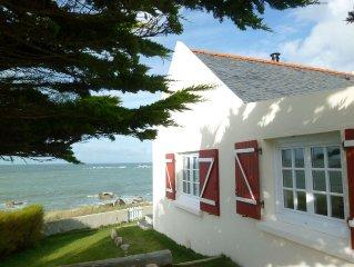 Petite maison 4 personnes en front de mer