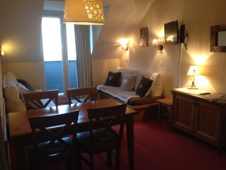 T2 4/5 BEDS - at the foot baths and cable car - WiFi Access