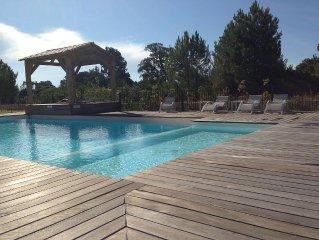 Porto Vecchio T2 rdj clim piscine prox. plage cala rossa