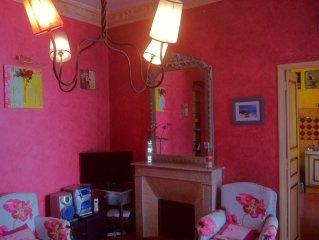 Appartement de charme, centre ville de Bastia, tout equipe pour 4 pers