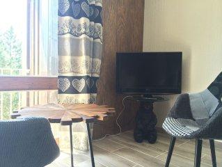 Font Romeu appartement luxueux vue montagne/ golf, entierement renove !