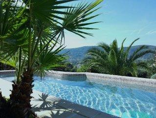 Maison avec piscine et jardin privatif aux portes du Verdon, 6 personnes