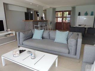 Superbe appartement sur la plage de Grand-Case - 15% sur les mois d'ete !!!!