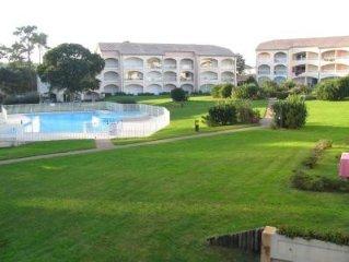 Moliets plage - Appartement standing - 4 à 5 pers - rdc avec grande terrasse -