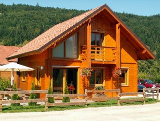Votre chalet neuf a Gerardmer-Confort-Espace-Proximite Lac & Pistes-Acces facile
