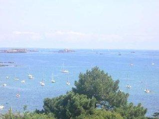 Location appartement vue sur mer a carantec