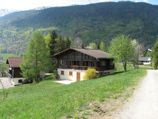 Cottage cottage facing beginner trails (family with young children) -calme summ