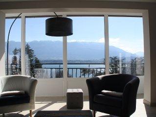 'LA PARENTHESE' location de charme vue lac et montagne