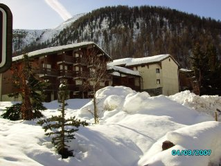 At the heart of the old village of Val d'Isere luxury duplex