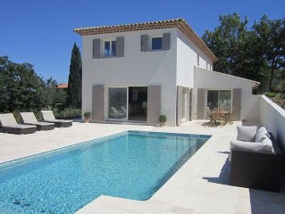 Elegante Villa  5 chambres vue mer - golfe de St Tropez